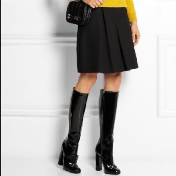 5177edbe8bdf9c GUCCI Lillian Patent Leather Boots
